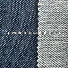 Light indigo twill wholesale cotton knitted denim cotton yarn dyed fabric