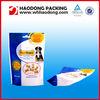 Custom Printed Standup Plastic Bag With Zipper For Pet Food Packaging