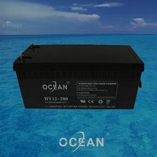 2014 new Ocean professional 12V 200AH lead acid battery 12v solar battery for Solar inverter UPS high quality