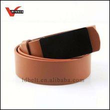 Specialty diesel leather belt