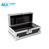 """10"""" amp / mixer rack flight case With Front Doors"""