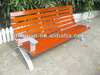 ISO9001 certified outdoor steel and solid wood antique wooden garden bench/antique wooden bench/wooden garden bench