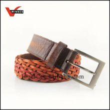 Customized durable rhinestone leather belt