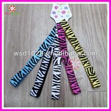 "5/8"" FOE Zebra Elastic Headband infant hairbands"