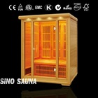infrared outdoor home saunas cabin for three person