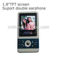 Beautitul digital mp4 mobile video download with TFT screen