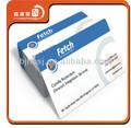 caliente la venta de negocios textiles de la tarjeta de papel kraft de negocios tarjetas de papel de alta calidad tarjetas de visita