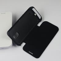 2600mah flip cover battery case for samsung galaxy s4 mini