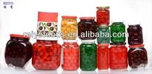 all kinds canned fruits apple pear peach strawberry kiwi apricot