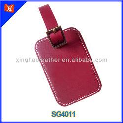 Free printable hand made genuine leather luggage tags
