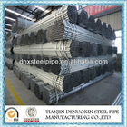 galvanized steel pipe tube for greenhouse frame