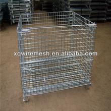 Warehouse storage Chrome Wire shelf rack