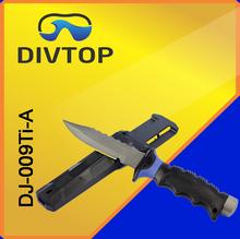 Titanium scuba dive knife tool