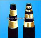 HIGH PRESSURE WIRE SPIRALED HYDRAULIC RUBBER HOSE DIN EN856 4SP