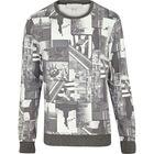 Custom Factory Price Sublimation full over Print Crewneck Sweatshirt