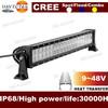 9-36v 21.5inch 10800lm Ip68 120w Led Light Bars For Trucks