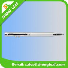Silver metal laser pen ballpen laser pen