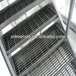 galvanized steel outdoor stairs
