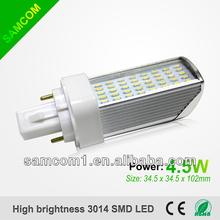 2013 New Design 4.5W LED Light G24 LED Horizon Down Light