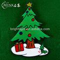 visón del árbol de navidad adornos de regalo walmart etiqueta de la ventana