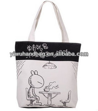 rabbit pattern cheap custom shopping plastic bags