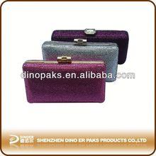 Crystal Box Clutch Evening Bag