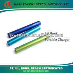 Portable power bank 4200mah with OEM/ODM service