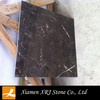 china natural polished marble flooring tile/ dark emperador
