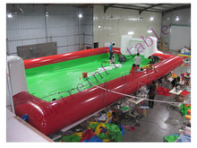 Empire inflatable football court, giant outdoor inflatable football field NS019