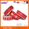 Christmas washi tape for decoration, print washi tape promotion
