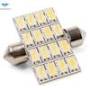 car led lights/festoon lighting/led festoon light bulb 5050 16SMDled