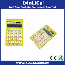 16 elettronico digitale due power calculator, formato a4 calcolatrice di grandi dimensioni
