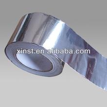 Aluminum Foil Tape coat with Glass cloth for Transformer/heat resistance self adhesive aluminum foil tape