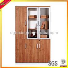 school bookcase,teak bookcase, glass doors bookcase F13-3011