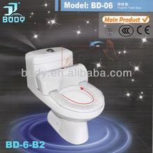 Hygienic round modern design toilet seat fittings