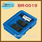 PROFESSIONAL 3PC BRAKE CALIPER SOCKET SET / AUTOMOTIVE REPAIR HAND TOOLS KIT