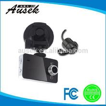 HD 2.7inch Night Vision and Loop Recording 2 Channel Car Black Box Dvr Car Camera