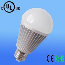 UL CE ROHS bulb 5w 8w 100lm/w 2013 factory high quality Epistar COB chip e27 led bulb india price