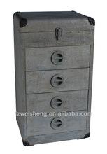 Aluminum 4-drawer Chest