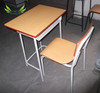 school table and chair set/cheap school desk and chair