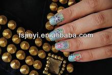 dot&flower nail art polish sticker lace & hand nail art sticker wholesale