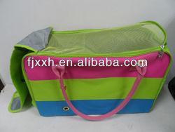 dog nylon carry pet bag /pet suitcase dog bag