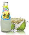 a água de coco com cevada