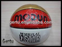 custom logo size 7 pvc laminated basketball