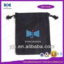 wholesale black drawstring cotton tote bags