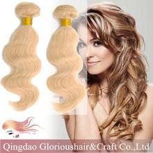 Virgin professional hair 100% wholesale cheap remy human peruvian hair in china