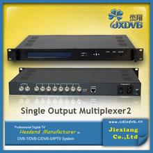 DVB Headend Vieo 8 Port Multiplexer