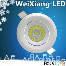 New hot sale products high quality led ceiling light 7w cob epistar/bridgelux