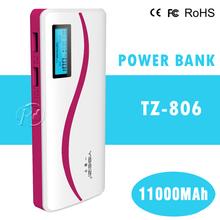 12000mah power bank external battery pack