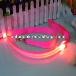 pet custom led dog leashes